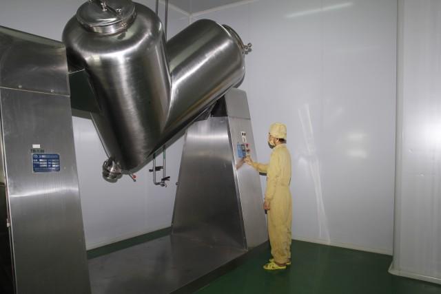 thiết bị sản xuất bảo khí nhi 2